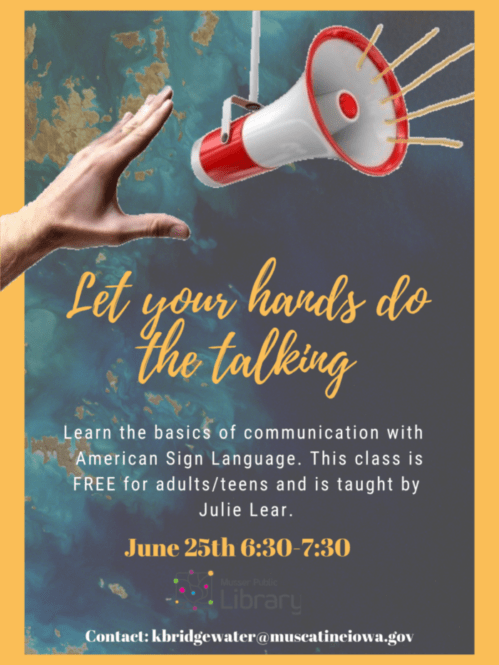 Learn American Sign Language - Musser Public Library